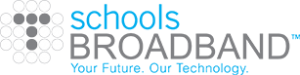 schoolsbroadband logo internet connections and broadband services for schools